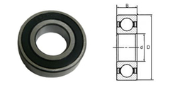 1601-2RS Abec Precision Bearing