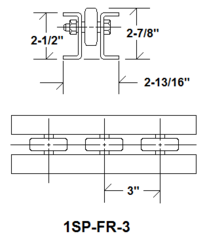 Flow Rail FR-3 1SP-FR-3