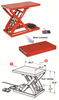 Mechanical-Electric Lift Table Ultra-low Platform / Mini 1SP-ML-100-47V