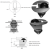 Inverted/Air Cargo Swivel Caster A5861
