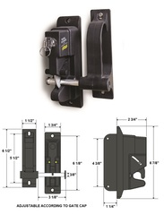 DUAL GUARD LOCK LATCH DGL-1A