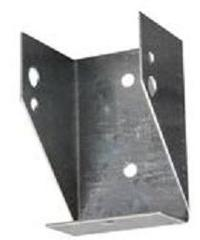 """2"""" x 4"""" Rail Mounting Bracket - Steel with HDG Finish"""