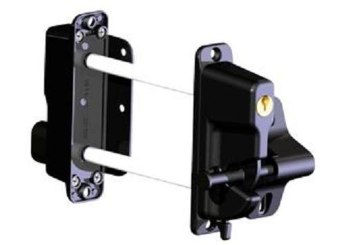 Two Sided Lockable Latch Zinc Diecast 1st Source Products