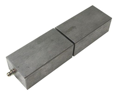 "7"" Weldable Square Block Hinge SCP-47089"