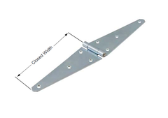 Steel Zinc Plated Heavy Strap Hinge SP-HSH5091