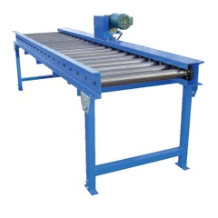 """Chain Driven Live Roller 55"""" Conveyor Width CDLR-55-10"""