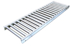 "1 5/8"" Stainless Roller Conveyor 158-SSR-4530-5FT"