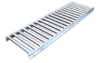 "1 5/8"" Stainless Roller Conveyor 158-SSR-1230-10FT"