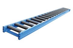 "1.9"" P.V.C. Roller Conveyor 190-PVC-0324-5FT"