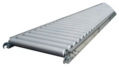 "2"" Aluminum Light Duty Roller Conveyor 200-ARL-4518-5FT"