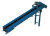 Inclined Parts Belt Conveyor PBV-08-5FT