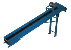 Inclined Parts Belt Conveyor PBV-08-7FT