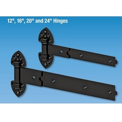 Rustic Heavy Duty Strap Hinge 12 in.