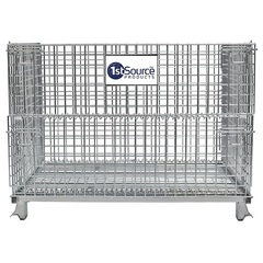 Wire Container – 32 in. D x 40 in. L x 34 in. H