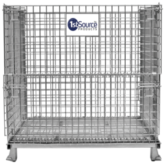 Wire Container – 40 in. D x 48 in. L x 42 in. H