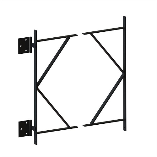 Wood Gate Frame - Tall W/Hinges for 5 ft or 6 ft Gates - 1st Source ...