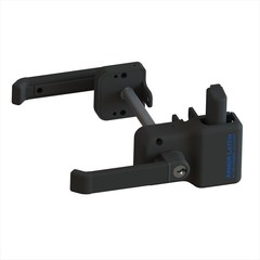 ArmorLatch® Magnetic Lever Handle Latch (Flat Black)