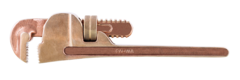 QTi Non-Sparking Pipe Wrench 18 in. OAL