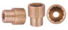 QTi® Non-Sparking 1 in. Drive, 12 Point, SAE 1-5/8 in. Shallow Socket